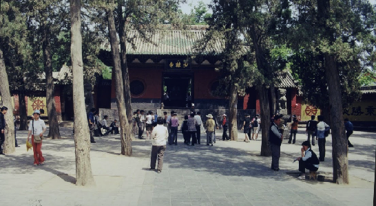 shaolin entry main door